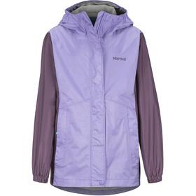 Marmot PreCip Eco Jacket Girls paisley purple/vintage violet